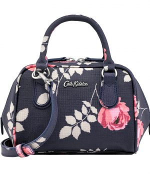 Cath Kidston Brooke Rosebud Mini Box Bowler Bag