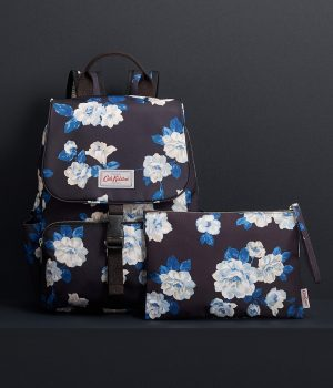 Cath Kidston Crescent Rose Buckle Backpack