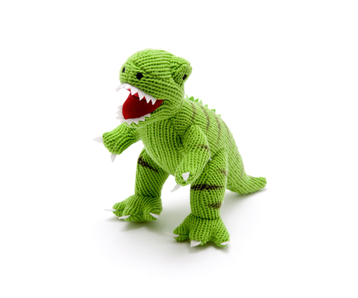 Best Dinosaur Toys : Best years knitted dinosaur t rex toy bibelot