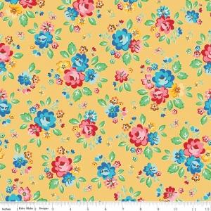 Arbor Main Yellow Fabric by Nadra Ridgeway for Riley Blake