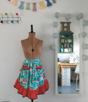 christmas pinny workshop 1