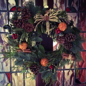 wreath making workshop bibelot leek