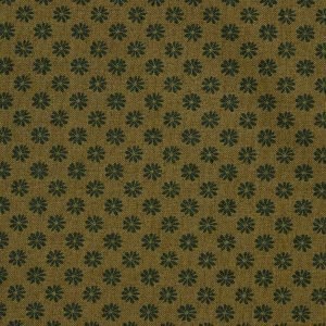Liberty London Floral Dot Cotton Fabric Khaki