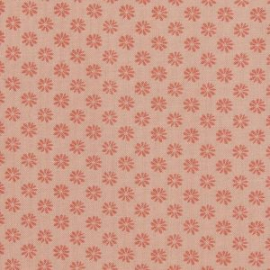 Liberty London Floral Dot Cotton Fabric Pink