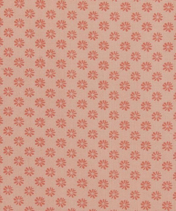 Liberty London Floral Dot Cotton Fabric Pink