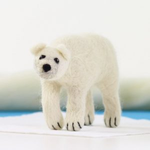 Hawthorne Handmade Polar Bear Needle Felting Kit