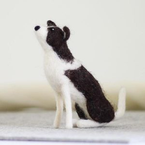 Hawthorne Handmade Border Collie Needle Felting Kit