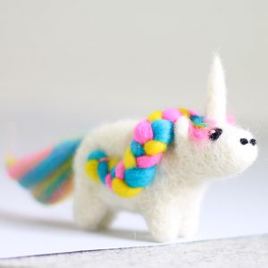 Hawthorne Handmade Unicorn Mini Needle Felting Kit