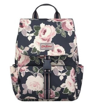 Cath Kidston Paper Rose Buckle Backpack