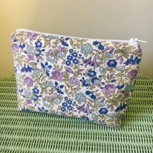 liberty make up bag craft workshop