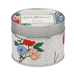 Cath Kidston Saltwick Bunch Red Fruit Tin Candle