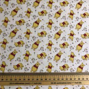 Winnie The Pooh Cotton Fabric