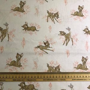 Bambi Toile in Pink Cotton Fabric