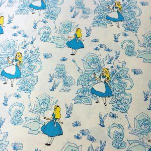 Disney Alice In Wonderland Cotton Fabric