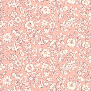 Liberty's The Cottage Garden Morning Dew Light Pink