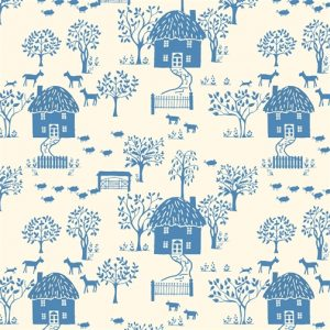 Liberty's The Cottage Garden - Cottage Lane Blue