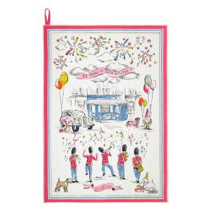 Cath Kidston 25th Birthday Placement Tea Towel