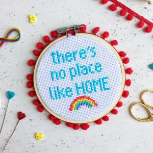 There's No Place Like Home Cross Stitch Kit