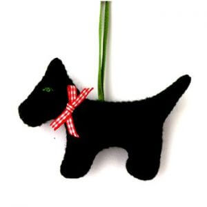 Corinne Lapierre Felt Animal Mini Craft Kits Black Dog