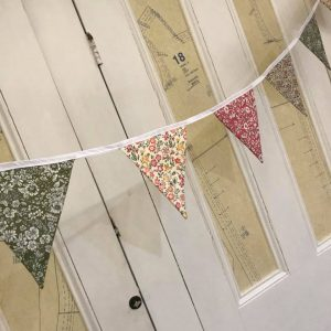 Liberty bunting workshop