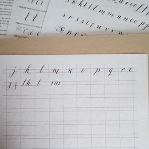 Modern Calligraphy workshop bibelot