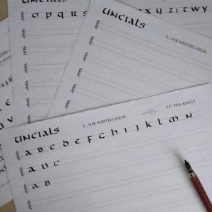 traditional calligraphy workshop bibelot