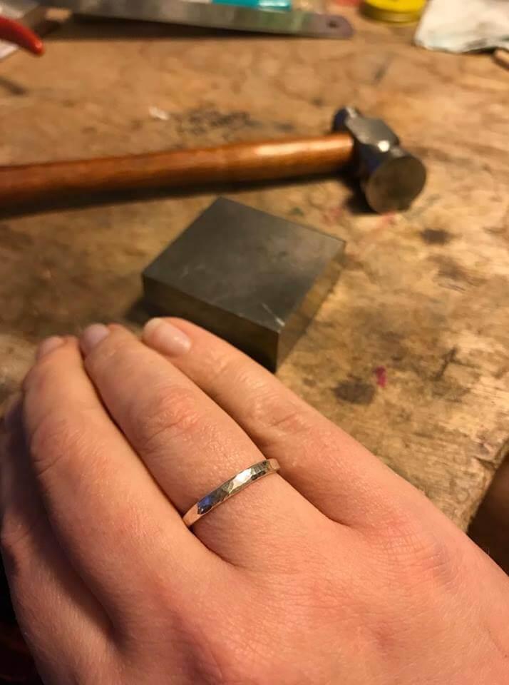red fox blue monkey ring workshop bibelot