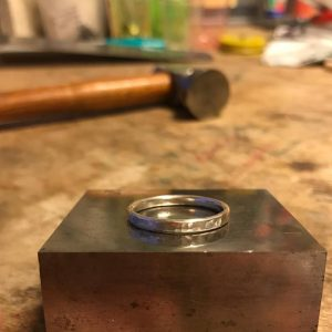 red fox blue monkey ring workshop bibelot
