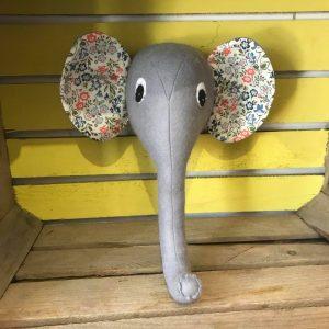 elephant trophy head workshop