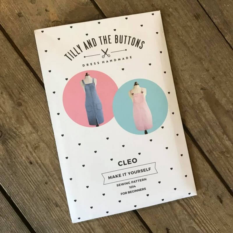 Tilly and the buttons cleo dress workshop