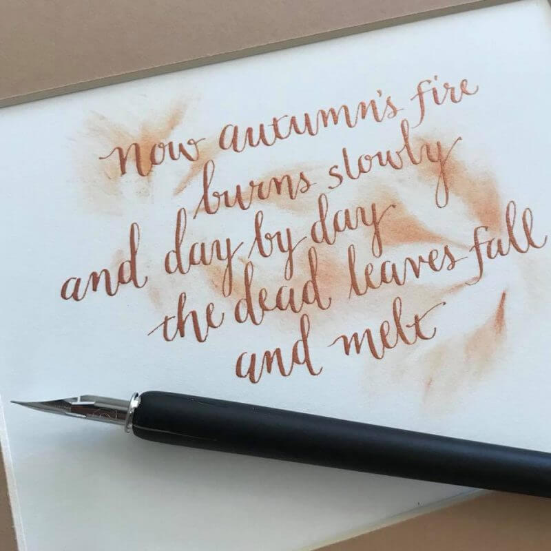 Modern Calligraphy Workshop - Saturday 18th August: 10am - 1pm