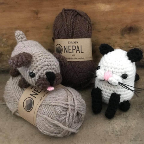 Bibelot crochet workshop amigurumi animals