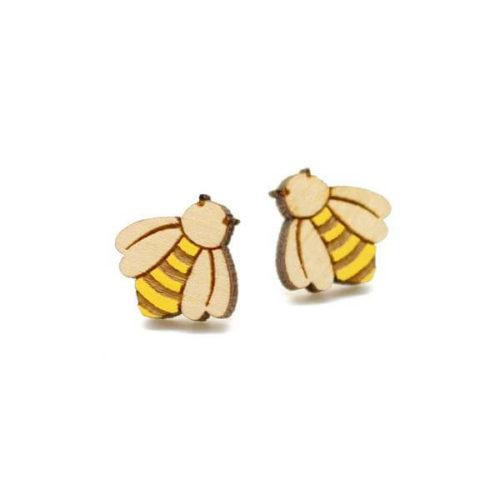 Layla Amber Bumble Bee Earrings