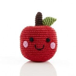 Best Years Friendly Fruit Apple Rattle