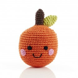 Best Years Friendly Fruit Orange Rattle