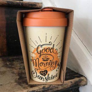 Good Morning Sunshine Bamboo Cup