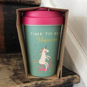 Time For Unicorns Bamboo Cup