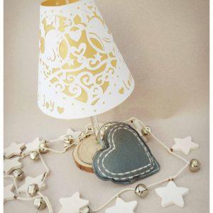 paper cutting festive lamp at bibelot with pocket wren