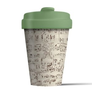 Musical Notes BambooCup