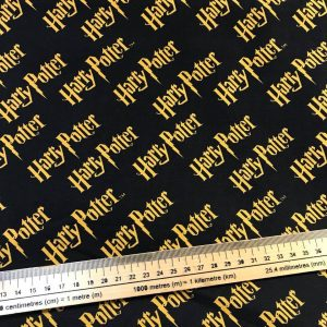Harry Potter Logo Cotton Fabric