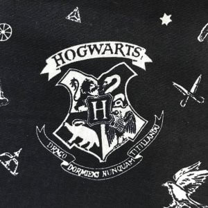 Harry Potter Hogwarts Cotton Fabric
