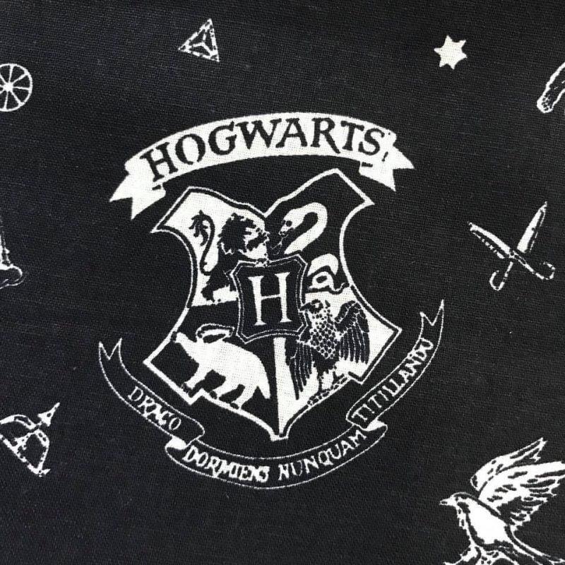 Harry Potter Hogwarts Cotton Fabric