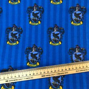 Harry Potter Ravenclaw House Cotton Fabric