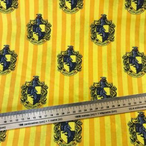 Harry Potter Hufflepuff House Cotton Fabric