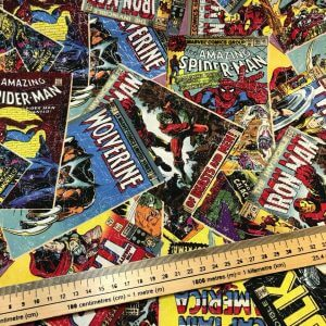 Marvel Comics Cotton Fabric