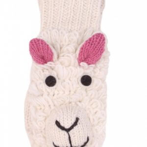 Kids Mittens Sheep