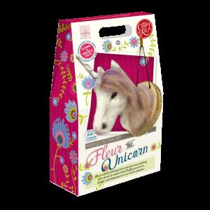 Fleur the Unicorn Needle Felting Kit