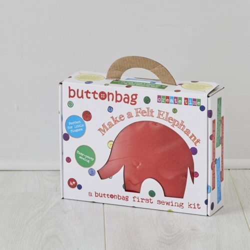 Buttonbag Elephant First Sewing Kit