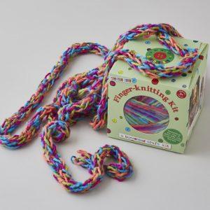 Buttonbag Finger Knitting Kit