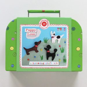 Buttonbag Puppy Love Sewing Kit
